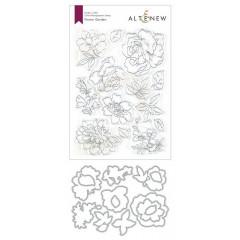 Набор штампов и ножей для вырубки Altenew FLOWER GARDEN BUNDLE