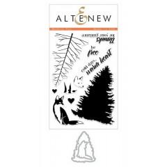 Набор штампов и ножей для вырубки Altenew MODERN FOX