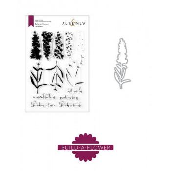 Набор штампов и ножей для вырубки Altenew BUILD-A-FLOWER: LAVENDER