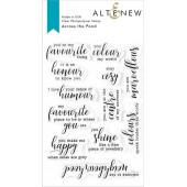 Набор штампов Altenew ACROSS THE POND