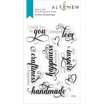 Набор штампов Altenew CRAFTY GREETINGS