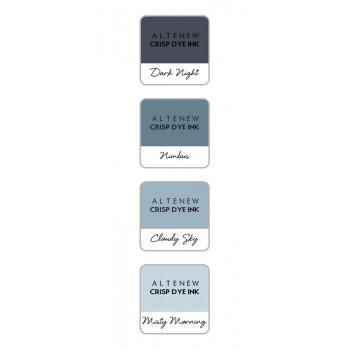 Набор чернильных подушечек Altenew Crisp Inks TRANQUILITY