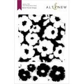 Набор штампов Altenew BOLD FLORAL DRAPE