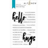 Набор штампов Altenew HELLO AND HUGS