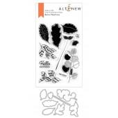 Набор штампов и ножей для вырубки Altenew RETRO PLANTINES BUNDLE