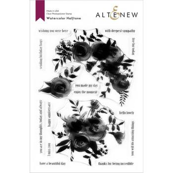 Набор штампов Altenew WATERCOLOR HALFTONE
