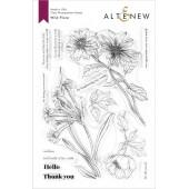 Набор штампов Altenew WILD FLORA