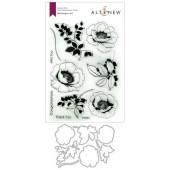 Набор штампов и ножей для вырубки Altenew WALLPAPER ART BUNDLE