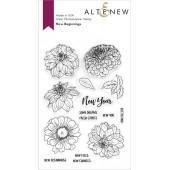 Набор штампов Altenew NEW BEGINNINGS