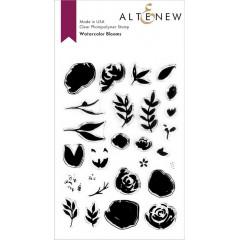 Набор штампов Altenew WATERCOLOR BLOOMS
