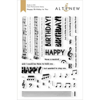 Набор штампов Altenew HAPPY BIRTHDAY TO YOU
