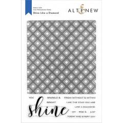 Набор штампов Altenew SHINE LIKE A DIAMOND