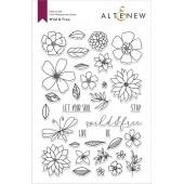 Набор штампов Altenew WILD and FREE