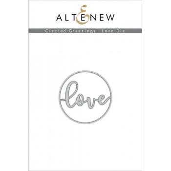 Нож для вырубки Altenew CIRCLED GREETINGS: LOVE