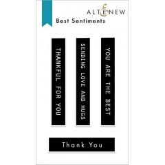 Набор штампов Altenew BEST SENTIMENTS