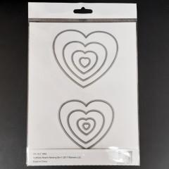 Набор ножей для вырубки Altenew HALFTONE HEARTS