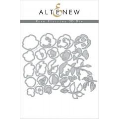 Набор ножей для вырубки Altenew ROSE FLURRIES 3D