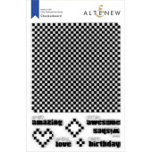 Набор штампов Altenew CHECKERBOARD