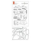 Набор штампов и ножей для вырубки Altenew CAMP LIFE BUNDLE