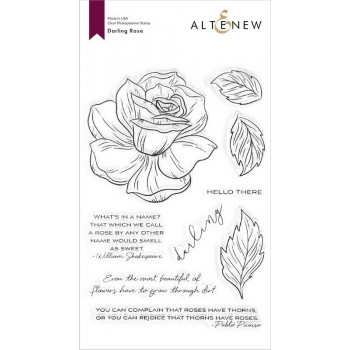 Набор штампов Altenew DARLING ROSE