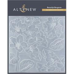 Папка для тиснения 3D Altenew BEAUTIFUL BERGENIA