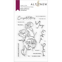 Набор штампов Altenew PAINT-A-FLOWER: CARNATIONS