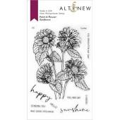 Набор штампов Altenew PAINT-A-FLOWER: SUNFLOWER