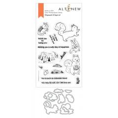 Набор штампов и ножей для вырубки Altenew CHIPMUNK and SQUIRREL BUNDLE