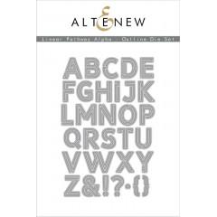 Набор ножей для вырубки Altenew LINEAR PATHWAY ALPHA OUTLINE