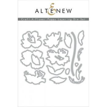 Набор ножей для вырубки Altenew CRAFT-A-FLOWER: POPPY