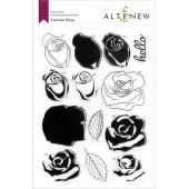 Набор штампов Altenew CARTOON ROSE