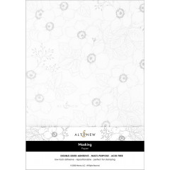 Бумага маскировочная для штампинга Altenew MASKING PAPER лист А4