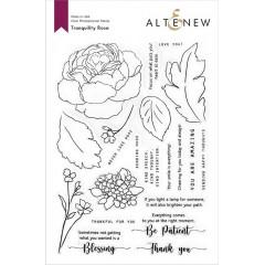 Набор штампов Altenew TRANQUILITY ROSE