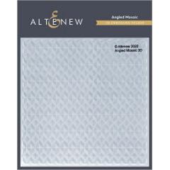 Папка для тиснения 3D Altenew ANGLED MOSAIC