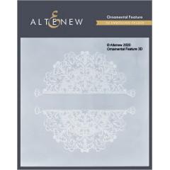 Папка для тиснения 3D Altenew ORNAMENTAL FEATURE