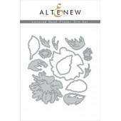 Набор ножей для вырубки Altenew LAYERED WOOD FLOWER