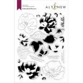 Набор штампов Altenew AIRBRUSHED FLOWERS