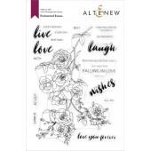Набор штампов Altenew ENCHANTED ROSES