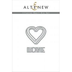 Набор ножей для вырубки Altenew ILLUSION HEART