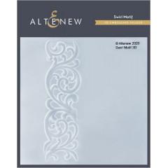 Папка для тиснения 3D Altenew SWIRL MOTIF