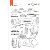Набор штампов Altenew CAMP LIFE
