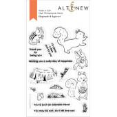 Набор штампов Altenew CHIPMUNK AND SQUIRREL