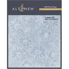 Папка для тиснения 3D Altenew BOLD FLORAL DRAPE