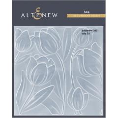 Папка для тиснения 3D Altenew TULIP