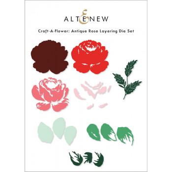 Набор ножей для вырубки Altenew CRAFT-A-FLOWER: ANTIQUE ROSE
