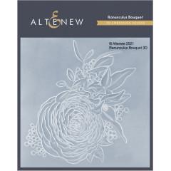 Папка для тиснения 3D Altenew RANUNCULUS