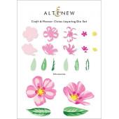 Набор ножей для вырубки Altenew CRAFT-A-FLOWER: CISTUS
