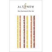 Набор ножей для вырубки Altenew SLIM SENTIMENTS