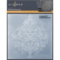 Папка для тиснения 3D Altenew BEAUTIFUL BAROQUE