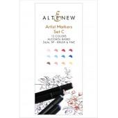 Набор маркеров Altenew ARTIST MARKERS set C